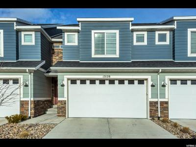 Bluffdale Townhouse For Sale: 15128 S Gallant Dr W