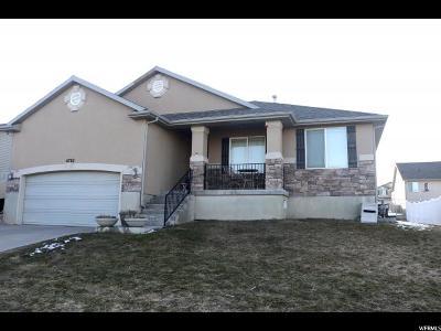 West Jordan Single Family Home For Sale: 6782 S Denman Ave W