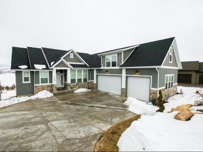 Heber City Single Family Home For Sale: 3188 E Lindsay Spring Rd S