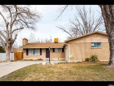 Sandy Single Family Home For Sale: 495 E Mingo Park Dr S
