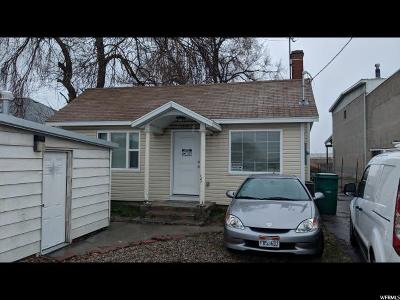 Layton Single Family Home For Sale: 1378 W Gentile St