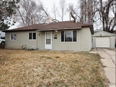 Clearfield Single Family Home Under Contract: 18 S Airlane Dr
