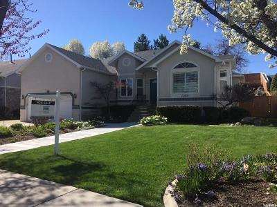 Salt Lake City Single Family Home For Sale: 1202 E Castlecreek Dr