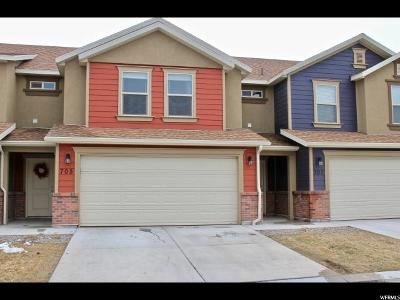 Spanish Fork Townhouse For Sale: 705 S 220 Pvfl W #27