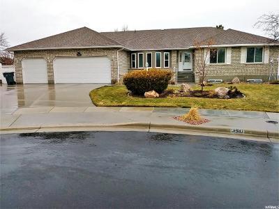 South Jordan Single Family Home For Sale: 3910 W Leicester Bay Cir S