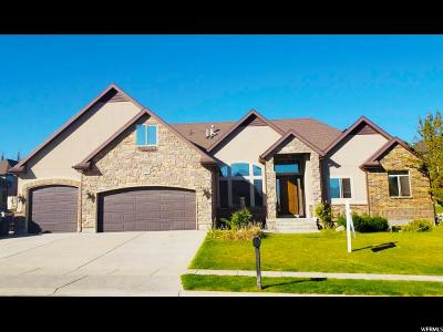Bluffdale Single Family Home For Sale: 15582 S Broken Arrow Dr W