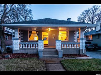 Salt Lake City Single Family Home For Sale: 756 E Parkway Ave