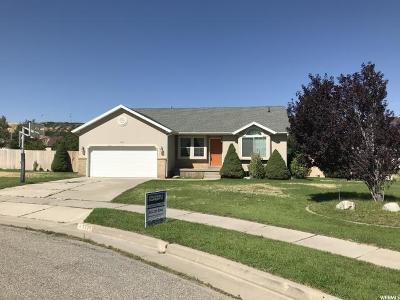 South Weber Single Family Home For Sale: 7775 S 2175 E
