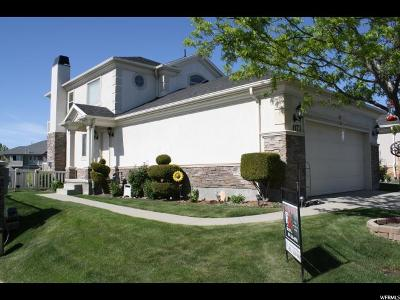 West Jordan Single Family Home For Sale: 1173 W Old Hollow Way
