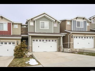 Herriman Townhouse For Sale: 14493 S Ryegate Dr W