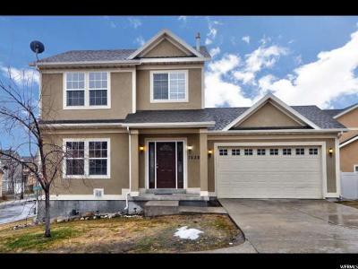 West Jordan Single Family Home For Sale: 7638 S Calendula Ln