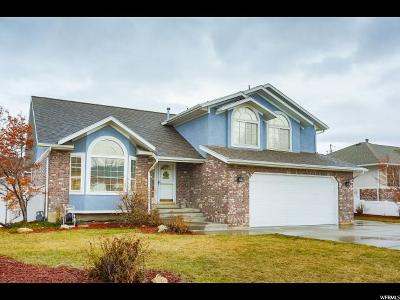 South Jordan Single Family Home For Sale: 9659 S 1600 W
