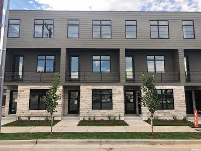Salt Lake County Townhouse For Sale: 275 W 800 St S #12