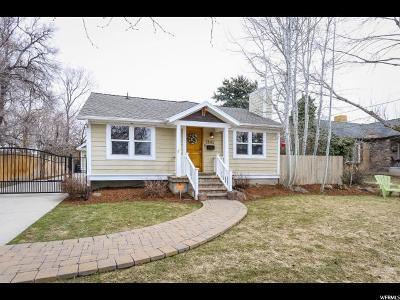 Salt Lake City Single Family Home For Sale: 2809 S Hartford E