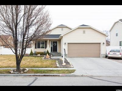 Stansbury Park Single Family Home For Sale: 5662 N Lanyard Ln