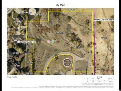 Salt Lake City Residential Lots & Land Under Contract: 3641 E Chateau Park Cv