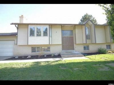 Kaysville Single Family Home For Sale: 3 W 600 N