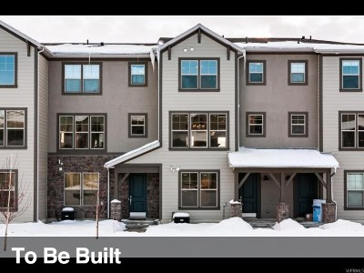 Wasatch County Townhouse Under Contract: 13804 N Wasatch Springs Ln #L1