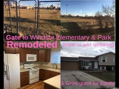 Orem Single Family Home For Sale: 1349 N 80 W