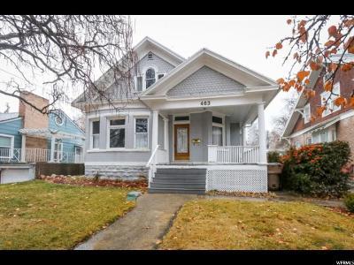 Salt Lake City Single Family Home For Sale: 463 S 1200 St E