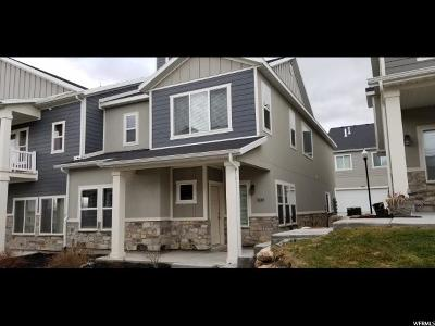 West Valley City Townhouse For Sale: 5644 W Island Ridge Dr