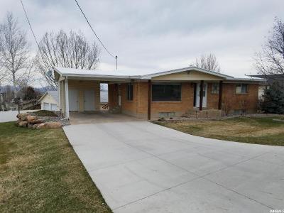 Hyde Park Single Family Home For Sale: 165 N 400 E