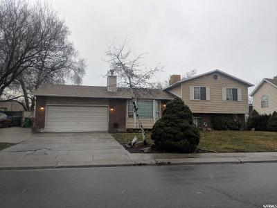 West Jordan Single Family Home For Sale: 8960 S 1240 W