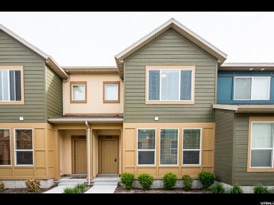 South Jordan Townhouse For Sale: 3726 W Angelica Way S