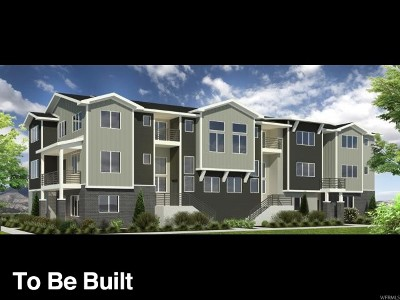 Bluffdale Townhouse For Sale: 15241 South Tack Way #202