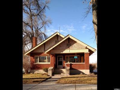 Smithfield Single Family Home For Sale: 263 W Center