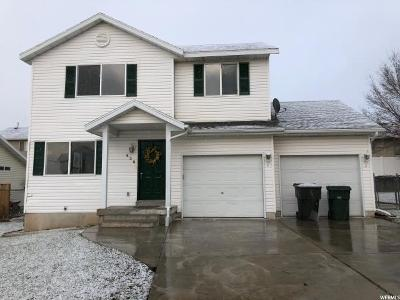 Tooele Single Family Home For Sale: 636 N 680 W