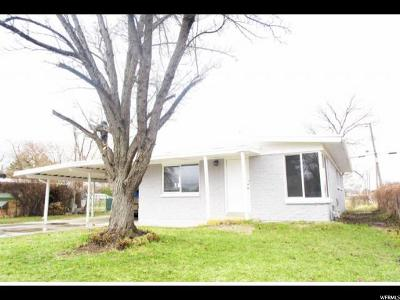 West Valley City Single Family Home For Sale: 3206 S Beaver