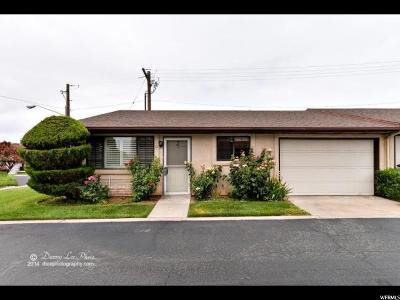 St. George Single Family Home For Sale: 55 E 600 S #11