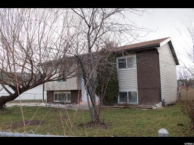 West Valley City Single Family Home For Sale: 3262 S Mockingbird Way W