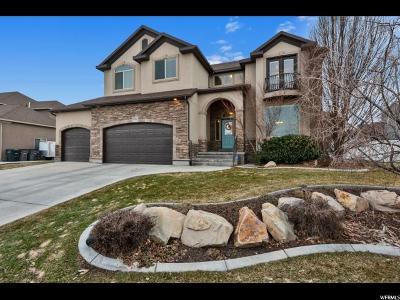 South Jordan Single Family Home For Sale: 10238 S Walnut Canyon Ln W