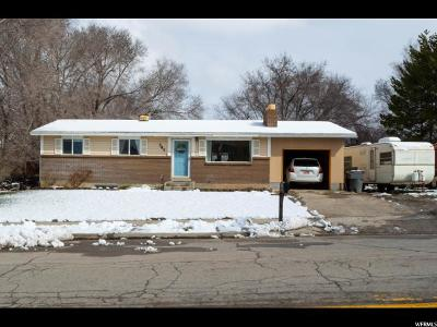 American Fork Single Family Home For Sale: 341 E 520 N