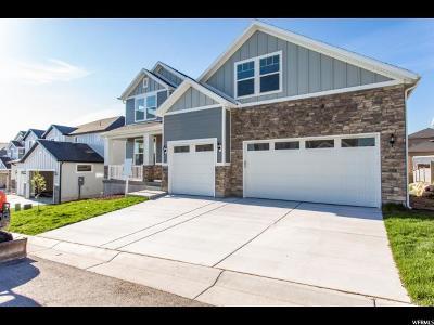 South Jordan Single Family Home For Sale: 3857 W Rasor Dune Dr #833