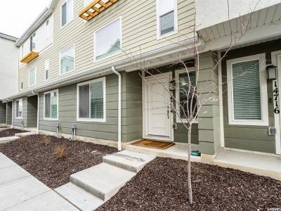 Bluffdale Townhouse For Sale: 14714 S Rising Star Way W