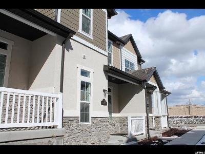 West Valley City Townhouse For Sale: 5657 Red Ridge Ln