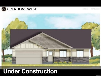 Tremonton Single Family Home Under Contract: 392 S 400 W