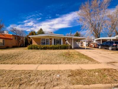 South Ogden Single Family Home Under Contract: 4297 S 950 E