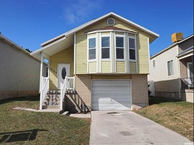 West Valley City Single Family Home For Sale: 3184 S Jason Pl W