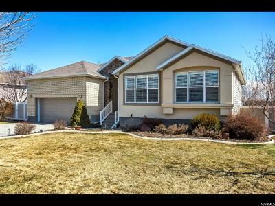 West Jordan Single Family Home For Sale: 8875 S Mountain Vista Dr