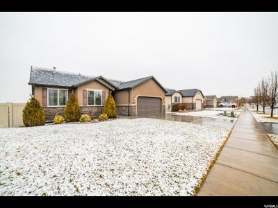 Saratoga Springs Single Family Home For Sale: 3486 S Harrier Dr