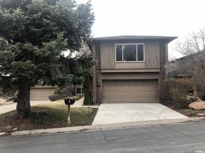 Salt Lake City Single Family Home For Sale: 3862 S Quail Hollow Dr E