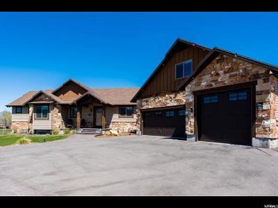 Heber City Single Family Home For Sale: 3225 E Wild Mare Way