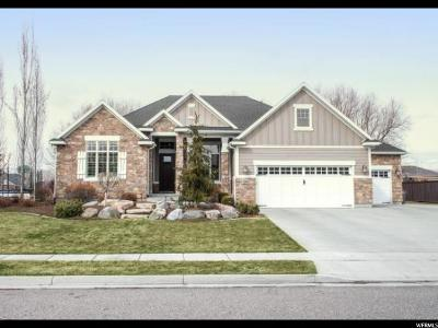 Kaysville Single Family Home For Sale: 1208 S Tylers Way W