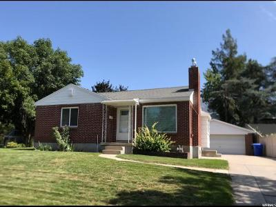 Holladay Single Family Home For Sale: 6261 S Meadowcrest Rd