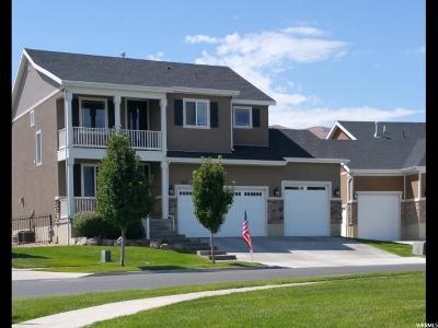 Saratoga Springs Single Family Home For Sale: 2461 S Cottage Cv E