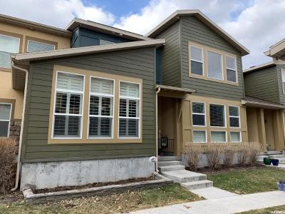 South Jordan Townhouse For Sale: 3767 W Angelica Way S
